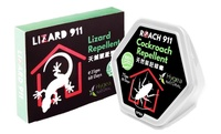 LIZARD911 NATURAL LIZARD REPELLENT 25gm + ROACH 911 COCKROACH REPELLENT 75g