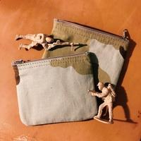 [鳳梨罐頭|vintage] 美軍沙漠零錢包