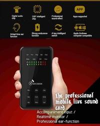 Jayoyi 3.5mm Professional DSP Live Digital Audio Voice Change Microphone