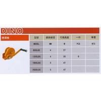 DINO 2600LBS/800LBS手搖捲揚機(附煞車)手動絞盤 手搖吊車 鋼索式 捲揚機 捲線機 手搖絞線器 捲揚器