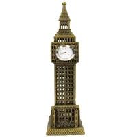 VF Children DIY Game Children Smart Vintage Model Statue of London Big Ben with one Working Clocks Souvenir  Home Deco Garage Kits