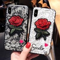 Casing Rose Flower PhoneCase Cover VIVO Y532017 Y55 Y55S Y71 Y71i Y81 V5 Lite V9