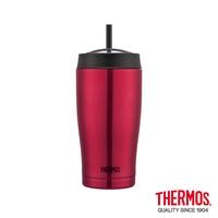 THERMOS 膳魔師不鏽鋼真空吸管隨行瓶0.65L