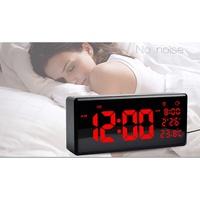 ▼VO 具有溫度壁時間的LED大型數字日曆時鐘顯示器用於Acurite