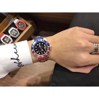 ∮/    Rolex 勞力士 格林尼治型 可樂圈口 機械錶 水鬼  男士手錶