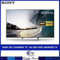 "SONY KD-75X9000F 75"" 4K UHD HDR ANDROID TV"