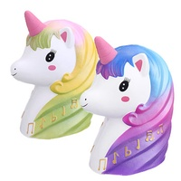 Giant Squishy Unicorn Humongous Jumbo 25CM Slow Rising Rebound Toys Decor With Packaging