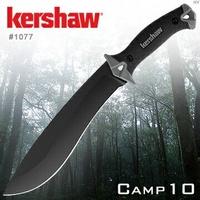 Kershaw camp 10 直刀 黑 /開山刀/砍刀/野外求生/戶外探險 1077