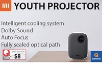 Xiaomi MiJia projector youth version Xiaomi projector 1080P resolution integrated large sound cavity