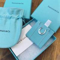 美國百分百【全新真品】Tiffany & Co. 項鍊 純銀 925 銀飾 墜飾 專櫃包裝 配件 馬蹄鐵 C666