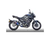 公畝齒輪rs gear RY19-C1RD真實規格全部的排氣單人房型圍巾鈦藥品藍色消音器(碳結束)MT-09/MT-09追踪者/XSR900圍巾 bike-man