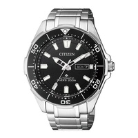 Citizen Divers NY0070-83EB Analog Automatic Silver Titanium Mens Watch