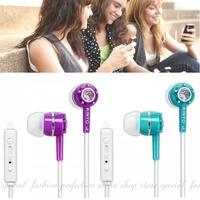 智慧型手機耳麥IPEM622 耳塞式耳機 麥克風 內耳耳機 高音質線控耳機 可調音量【HA310】◎123便利屋◎