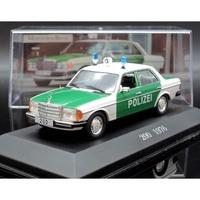 【M.A.S.H】Altaya 1/43 Mercedes-Benz 200 W123 1976 Police