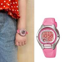 【CASIO 卡西歐】多元STANDARD兒童電子錶系列(LW-200-4B)