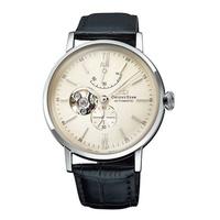 [1958 鐘錶城] ORIENT STAR 東方之星 經典縷空機械錶 皮帶款 銀色 RE-AV0002S