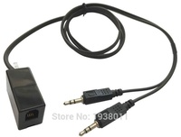 Free Shipping Female RJ9/RJ10/RJ22 to dual 3.5mm PC computer plug call center phone headset to PC computer adapter