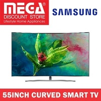 SAMSUNG QA55Q8CNAK 55INCH QLED 4K CURVED SMART TV / LOCAL WARRANTY