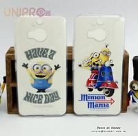 【UNIPRO】HTC ONE M9+ 小小兵 Minions BOB TPU 透明手機殼 保護套 M9 plus