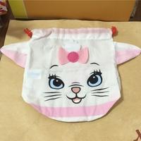 Yujin 迪士尼 瑪麗貓 瑪莉貓 束口袋 化妝包 收納袋