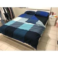 IKEA 床架 床墊 雙人標準