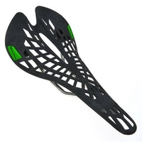 Rockbros Super Light Plastic Bicycle Saddles Cycling Mountain Bike MTB Breathable Hollow Seat Fixed