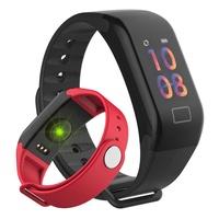 彩屏智能血壓手環心率運動睡眠監測血氧手表小米3代防水計步華為2