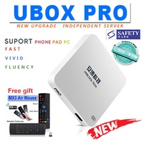 UNBLOCK TECH IPTV Android FREE Live TV BOX UBOX PRO Gen 5 SG Version withFree Airmouse Free Shipping