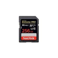 SanDisk Extreme Pro 256GB SDXC Memory Card - Black
