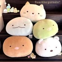 【真愛日本】頭型抱枕 角落生物 角落公仔 貓咪恐龍白熊炸豬排企鵝 娃娃 抱枕 靠枕 枕頭 布偶