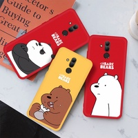 Cartoon Bears Painted Silicone Case For OPPO R17 Pro R11 R11S F1 F3 Plus R15 R7S Soft TPU Cover