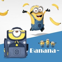 [LIMITED OFFER][DELSEY from FRANCE] Minions School Light  Weight Backpack! 6 Designs available~~