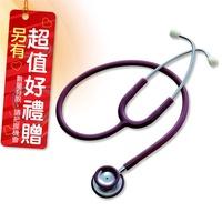 主治醫師 Spirit 精國聽診器 (未滅菌) CK-601P 雙面聽診器 色彩隨機出貨 贈 口罩一包