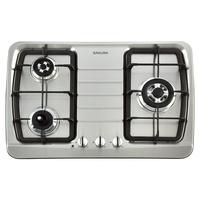 家+廚具衛浴水電材料行SAKURA櫻花三口檯面爐【G-2830KS】7600元
