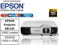 Epson EB-U42 Wireless Business Projector ** Free $60 NTUC Voucher + Epson Soft Carring Case ( Pre-Packed In Retail Packaging Box) Till 2nd Mar 2019 **