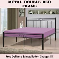 OLYMPIC Queen Size Bed Frame with Plywood