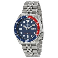 Seiko Automatic Divers Navy Blue Dial Stainless Steel Mens Watch SKX009K2 SKX009 SKX009K