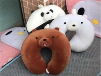 We Bare Bear Neck Pillow