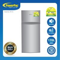 PowerPac 170L 2-Door Mini Fridge with Freezer (PPF170)