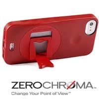 ★APP Studio★【ZeroChroma】美國設計師專利設計-小劇院可調式多角度保護殼《iPhone5/5S》專用  《VP防護系列-熱情巴西紅》