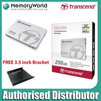 "Transcend SSD 2.5"" SATA III 6Gb/s SSD230S 128GB/256GB/512GB/1TB 3 Years Local Singapore Warranty *TRANSCEND Distributor Singapore*"