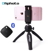 Ulanzi Mini Tripod with Phone Holder Mount · Camera Tripod Monopod for iPhone X 7 Canon Nikon Gopro S