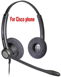 RJ11 RJ9 plug Headset for Cisco IP Telephone headset (796* 794* 797* 69** 78**99**) office headset p
