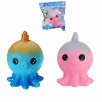 SanQi Elan Baby Octopus Squishy Toy Slow Rising Gift Decor With Original Packing