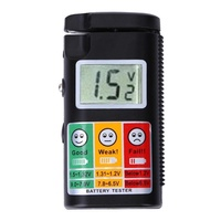 0- 9V LCD Digital Battery Tester 3 V 9 V 1.2 V To 1.5 V Battery Test Analyzer for Both Voltage and C