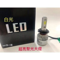 wei薇小舖 LED 現貨 LED大燈 H4 H7 機車大燈 FORCE155 SMAX155 Many 勁戰