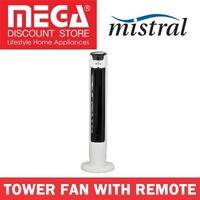 MISTRAL MFD4880R TOWER FAN WITH REMOTE / LOCAL WARRANTY