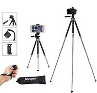 Fotopro Fotopro Phone Tripod, 39.5 Inch Aluminum Camera Tripod with Bluetooth Remote Control and Bag