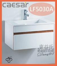 【東益氏】CAESAR凱撒精品衛浴LF5030A/B460C一體瓷盆浴櫃組售電光牌京典衛浴+詢問最低價+