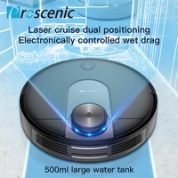Proscenic Robotic Vacuum Cleaner M7 500ml Watertank 360º Laser Robot 2150Pa New